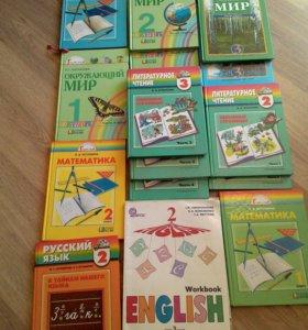 Учебники 1 -3 класс . Стоимость за 1 учебник