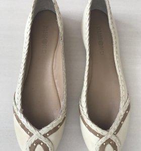 Балетки туфли Dumond 35.5 натуральная кожа новые