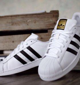 Кроссовки Adidas Superstar 37,38,39,40,41 маломерк