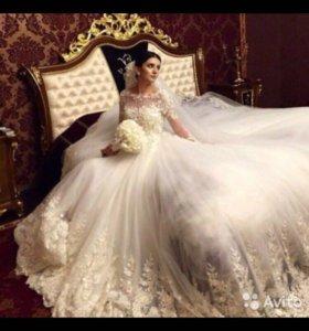 Свадебное платье новое !