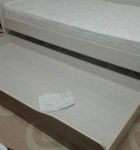 Кровать 190×80 новая с матрасом