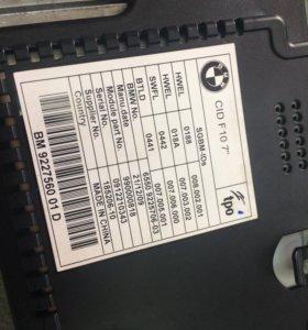 Монитор в BMW F10.новый