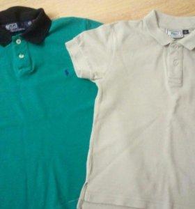 Рубашки поло р.122-128
