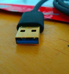 Кабель USB 3.0 - 100 см. для рейзера