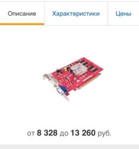 Видео карта EAX1050/TD/128M/A