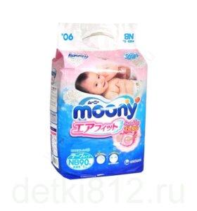 Подгузники Moony newborn 90 шт