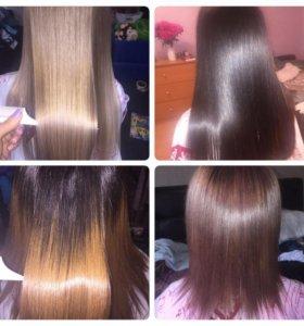 Пластика волос