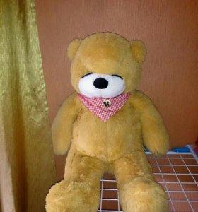 Мягкая игрушка медведь + подарок.