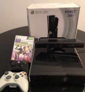 ИГРОВАЯ ПРИСТАВКА! Xbox Kinect 360