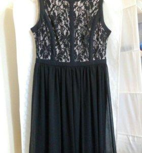 Платье с кружевом Ostin р. 44-46