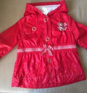 Куртка,ветровка для девочки