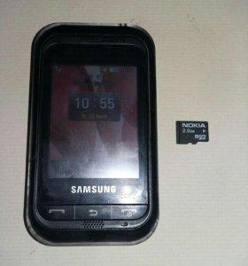 Телефон SAMSUNG GT-C3300K. РосТест