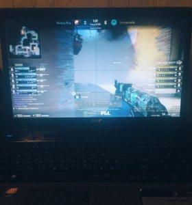Игровой ноутбук i5. acer 4 ядра 4 гига