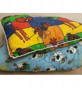 Детские Одеяло и подушка новые