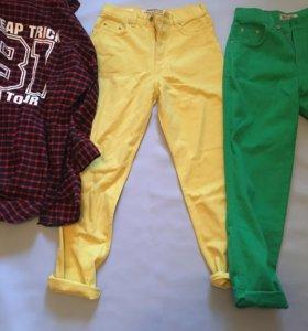 Одежда,джинсовка,куртка,джинсы бананы,кепки