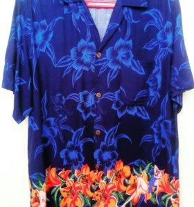 Гавайская рубашка б/у