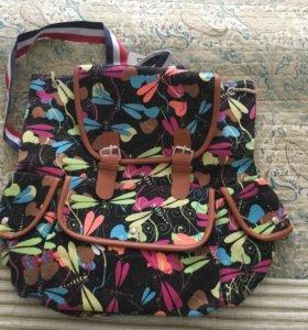 Рюкзак тканевый новый!