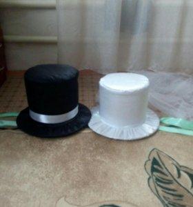 Украшения авто. свадебного шляпы
