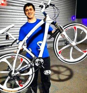 Велосипеды БМВ. Черный и белый