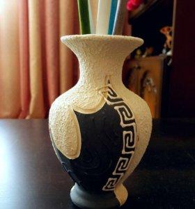 Декоративные вазочки и сундучок