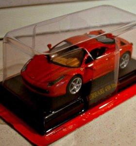 Уменьшенные копии машин Ferrari Collection