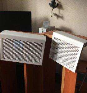 Декоративные металлические экраны на радиаторы