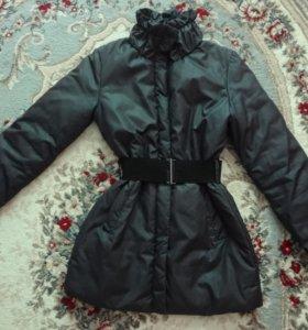 Куртка удлиненная демисезон, 44 р-р. Kira Plastinina.