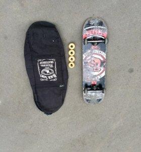 Скейт борд footwork