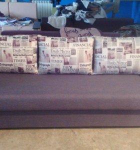 Новый диван Еврокнижка от производителя.