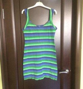 Платье трикотажное р. 46