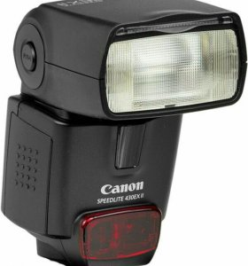 Вспышка Canon 430EX ii в идеале