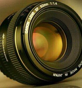 Canon ef 50/1.4 USM в идеале