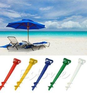 Подставка-штопор для пляжного зонта