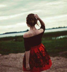 Платье вечернее(торг)