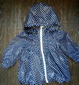 Детская куртка (плащ)