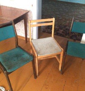 Продам 3 стула