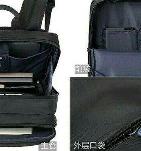 Портфель фирменный ,легкий ,вместительный .