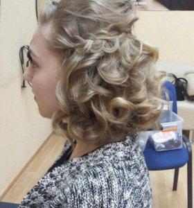 Причёска,локоны