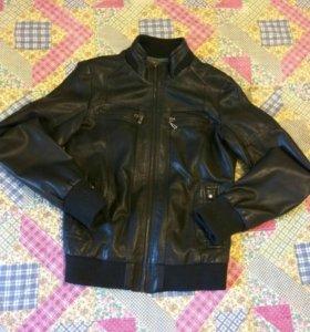 Куртка кожаная (кожзам)