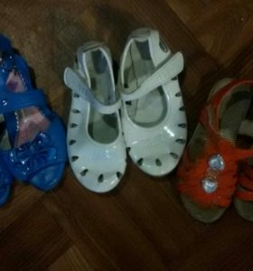 Босоножки и туфельки