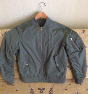 Куртка ветровка бомбер мужская