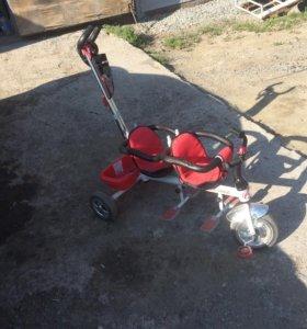 Велосипед для двойняшек