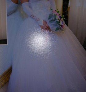Свадебное платья Ирина люкс.