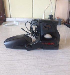 Мышь игровая zalman fpsgun fg1000 black usb- gold