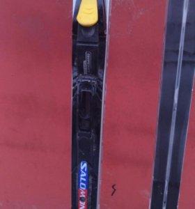 Лыжи fisher c ботинками