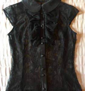 Кружевная блузка/блуза 42 размер