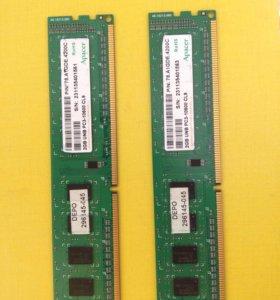 Оперативная память DDR3 (2GB – 1 модуль)