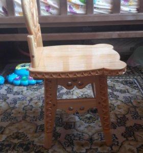 Новый детский стульчик ручная работа