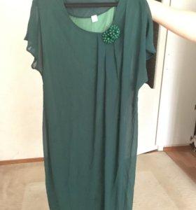 Платье шефоновое