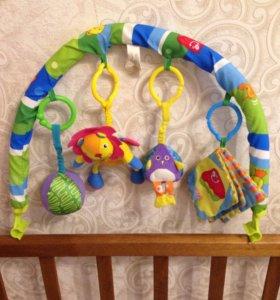 Дуга развивающая с игрушками